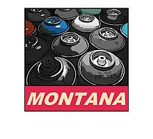 Montana Spray t-shirt Photographic Print