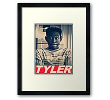 Tyler the Creator Obey Style Framed Print