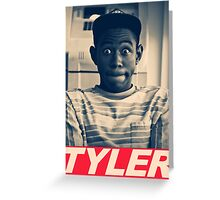 Tyler the Creator Obey Style Greeting Card