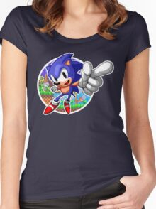 SONIC WINS Women's Fitted Scoop T-Shirt