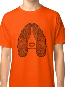Basset Hound - Detailed Dogs - Illustration Classic T-Shirt