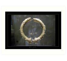 Celtic Gold - 1 Art Print