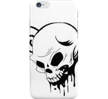 Heaven Skull Sketch iPhone Case/Skin