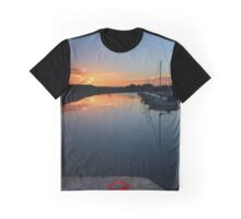 Reflections over Groomsport Graphic T-Shirt
