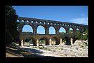 Pont du Gard - Bridge of the Gard by Roberta Angiolani