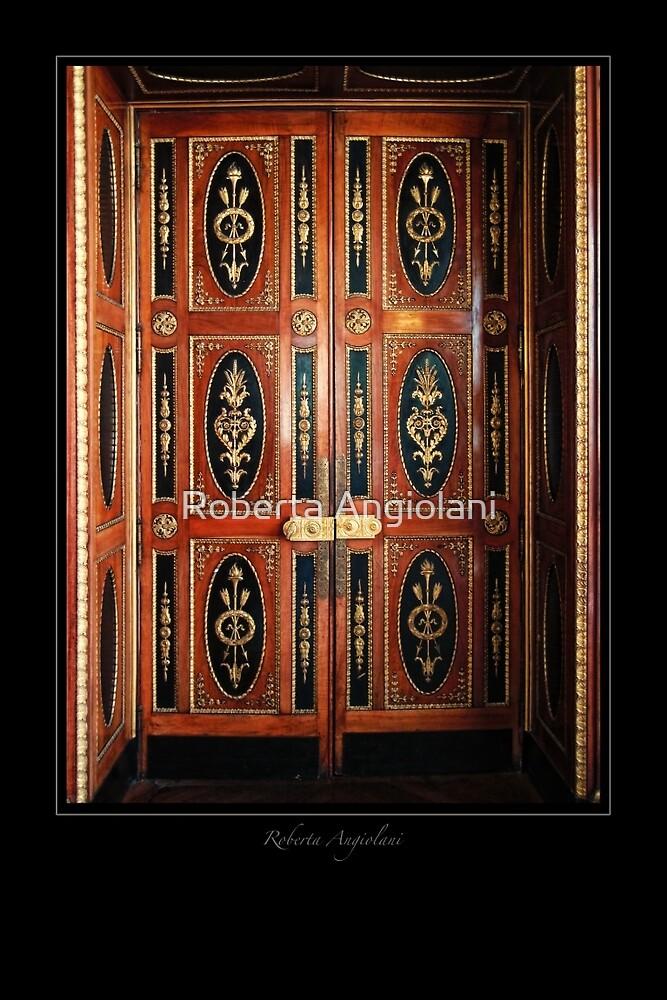 Double door - Villa Massena Nice by Roberta Angiolani