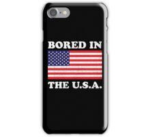 Bored In The USA iPhone Case/Skin