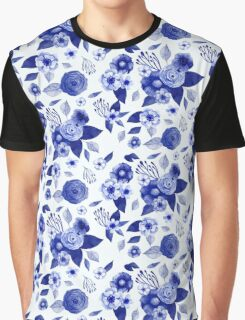 Flowers Print Graphic T-Shirt