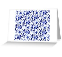 Flowers Print Greeting Card