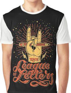 League of Letters Graphic T-Shirt