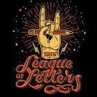 « League of Letters » par lettershoppe