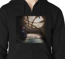 Doctor Strange edit by lichtblickpink Zipped Hoodie