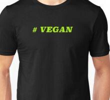 Hashtag Vegan Unisex T-Shirt