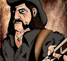 Lemmy (Motorhead) by ironheart598