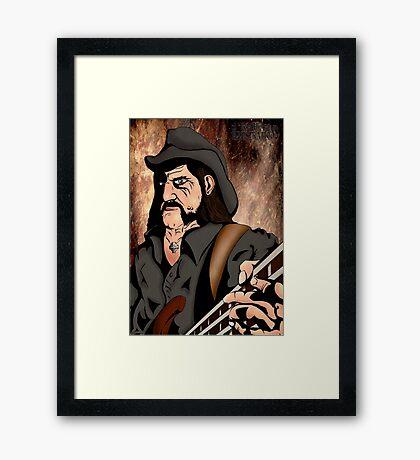Lemmy (Motorhead) Framed Print