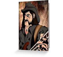 Lemmy (Motorhead) Greeting Card
