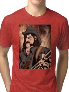 Lemmy (Motorhead) Tri-blend T-Shirt