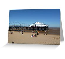 The Pier at Cleethorpes Greeting Card