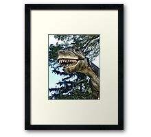 Terry the T-Rex Framed Print