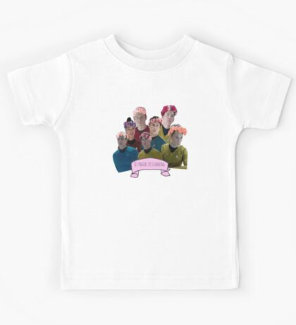 Set Phasers To Stunning Kids Tee
