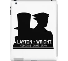 Videogame Crime Story iPad Case/Skin