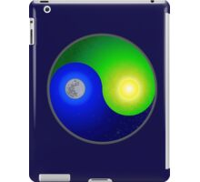 Yin Yang Flat Earth iPad Case/Skin