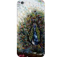 Dancing Peacock iPhone Case/Skin