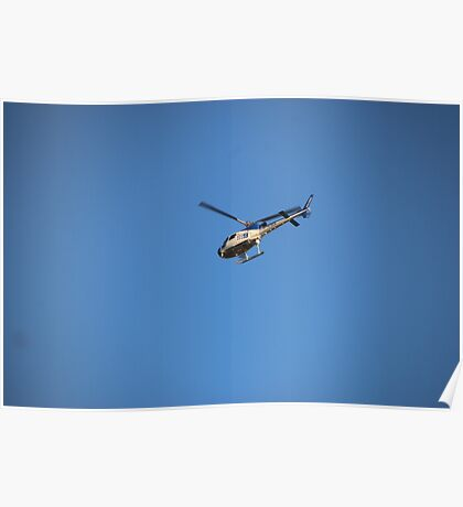 Channel 9 Helicopter Poster
