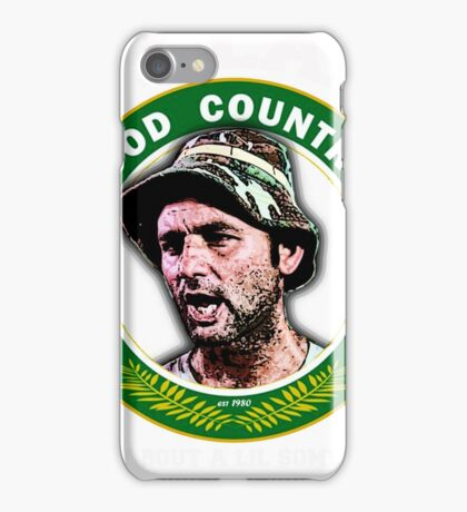 Hey Lama how bout a lil something for the effort iPhone Case/Skin