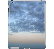 the full moon of august 10 2014 rising over the great south bay, new york iPad Case/Skin
