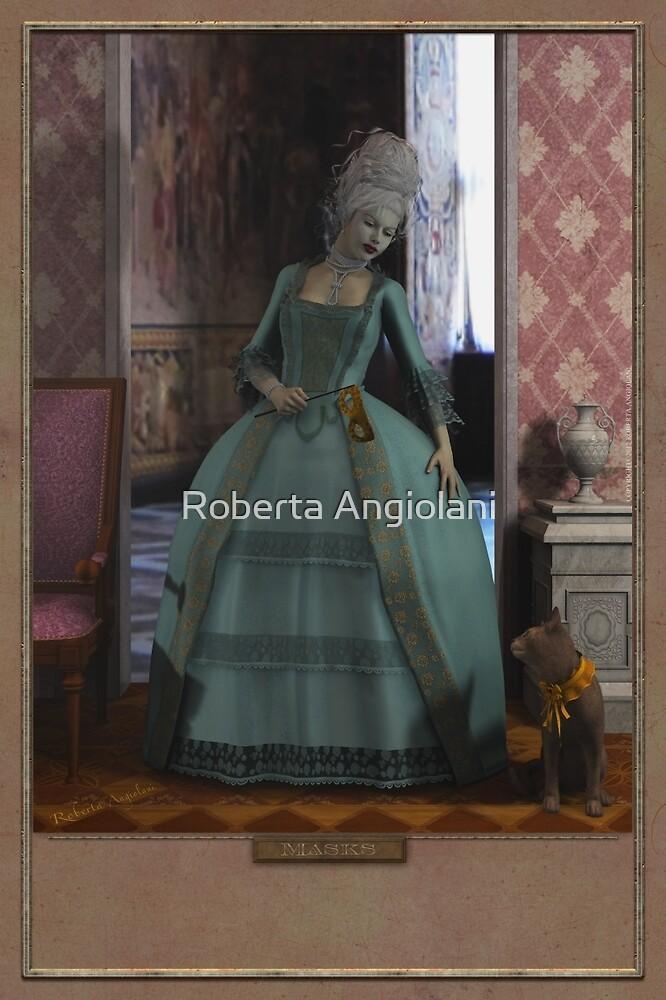 Masks by Roberta Angiolani