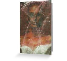 Mirage (A Serious Bride) Greeting Card