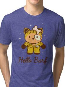 Hello Barf Tri-blend T-Shirt