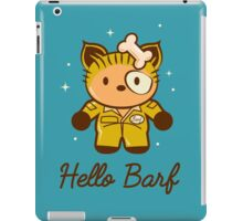 Hello Barf iPad Case/Skin