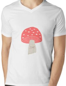Toadstool Mens V-Neck T-Shirt