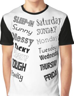 The Week Graphic T-Shirt