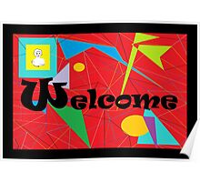 American Sign Language WELCOME Poster