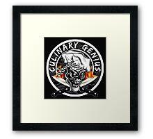 Skull Chef 5: Culinary Genius 2 Framed Print