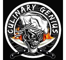 Skull Chef 5: Culinary Genius 2 Photographic Print