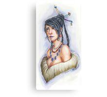 Final Fantasy X – Lulu Canvas Print