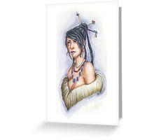 Final Fantasy X – Lulu Greeting Card