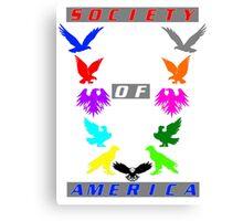 Society of America Canvas Print