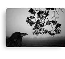 Listening to the Leaves Canvas Print