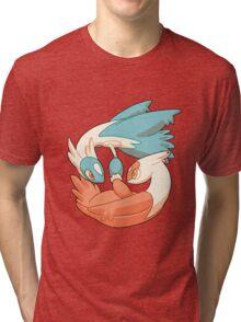 Latios and Latias Tri-blend T-Shirt
