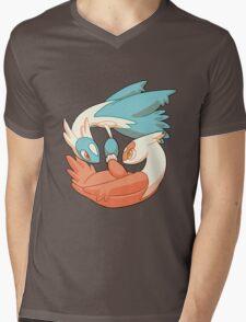 Latios and Latias Mens V-Neck T-Shirt