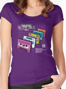 Sounds of the 80s Vol.3 Women's Fitted Scoop T-Shirt