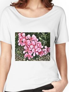Lovely Pink Flowers Women's Relaxed Fit T-Shirt