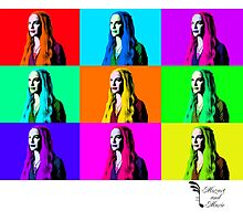 Mozart and Marie Game of Thrones Cersei Warhol Series by MozartandMarie