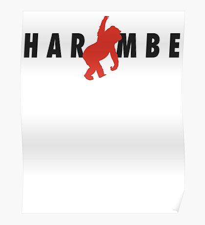 Harambe x Jumpman Poster