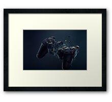 Hardcore Gamer PS4 Framed Print